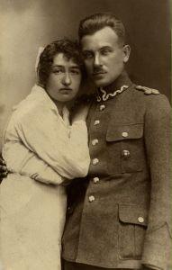 Józef z żoną