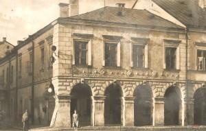 Kamienica morandowska w 1961 roku, reprodukcja Muzeum Zamojskie